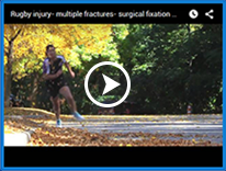 Rugby injury – Multiple Fractures- Surgical Fixation